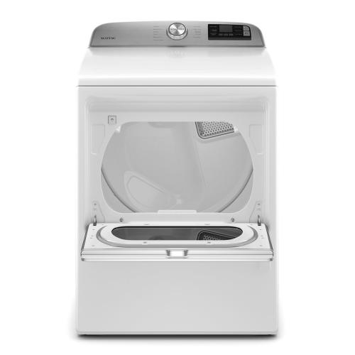 Maytag - Smart Capable Top Load Gas Dryer with Extra Power Button - 7.4 cu. ft.