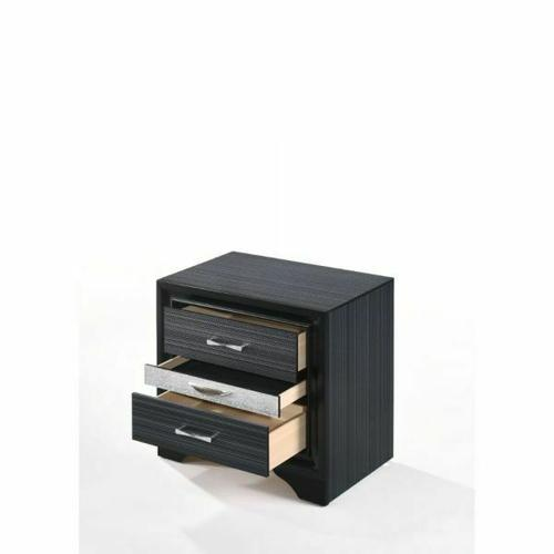 ACME Naima Nightstand - 25903 - Black