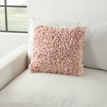 """See Details - Shag Dl660 Blush 17"""" X 17"""" Throw Pillow"""