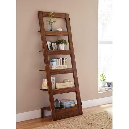 See Details - Rustic Antique Brown Etagere