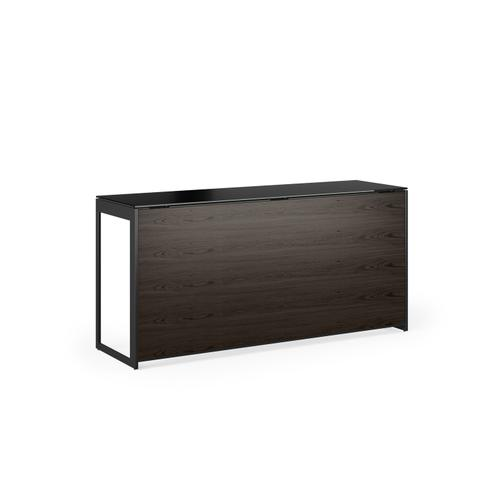 BDI Furniture - Sequel 20 6109 Console/Laptop Desk Back Panel in Charcoal Stained Ash
