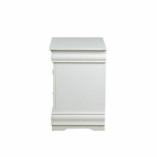 ACME Louis Philippe Nightstand - 23833 - White
