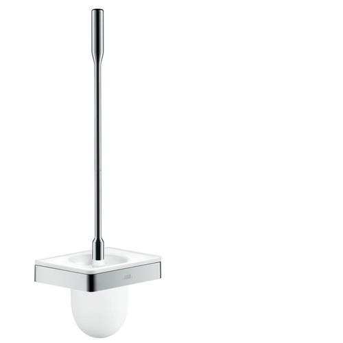 Chrome Toilet brush holder wall-mounted