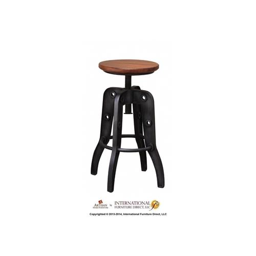 "24-30"" Adjustable Height Swivel Stool"