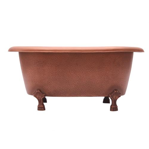 """Picasso 32"""" Copper Double Roll Top Tub"""