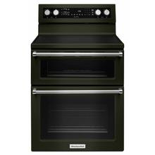 See Details - 30-Inch 5 elements Electric Double Oven Convection Range - Black Stainless Steel with PrintShield™ Finish