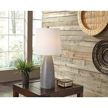 Poly Table Lamp- Shavontae Gray