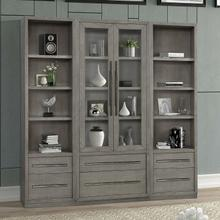 View Product - PURE MODERN 3pc Library Wall