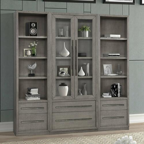 Gallery - PURE MODERN 3pc Library Wall