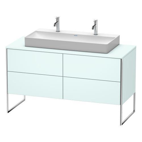 Duravit - Vanity Unit For Console Floorstanding, Light Blue Matte (decor)
