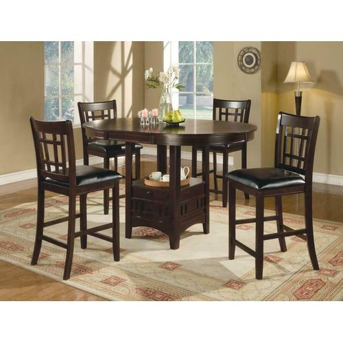 See Details - 5pc Set (tbl+4stool)