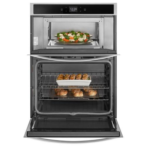 Gallery - 6.4 cu. ft. Smart Combination Wall Oven with Touchscreen