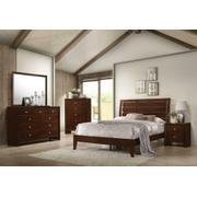 Serenity Rich Merlot Queen Five-piece Bedroom Set Product Image