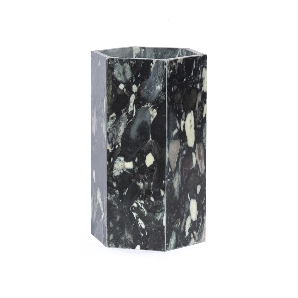 Multi Black Marble Finish Nomar Umbrella Storage