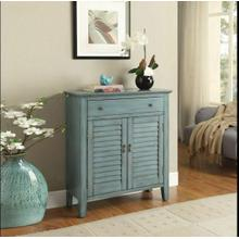 ACME Winchell Console Table - 97247 - Antique Blue