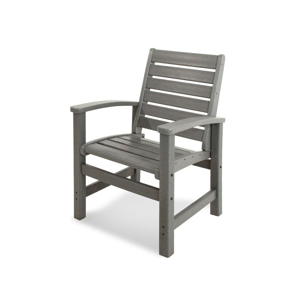 Slate Grey Signature Dining Chair