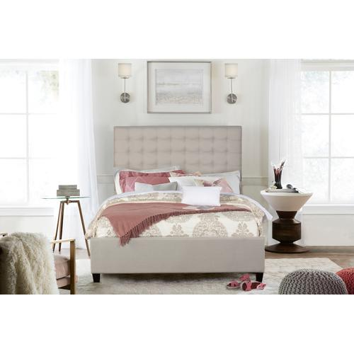 Bergen California King Bed - Dove Gray