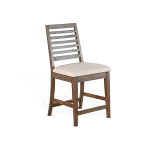 """Sunny Designs - 24""""H Counter Height Barstool"""