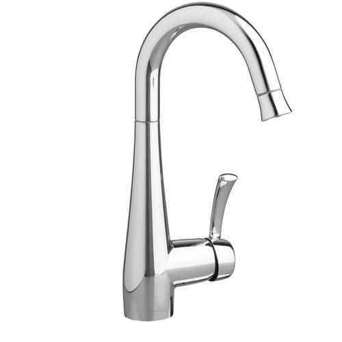 American Standard - Quince 1-Handle Pull Down High Arc Bar Faucet  American Standard - Polished Chrome