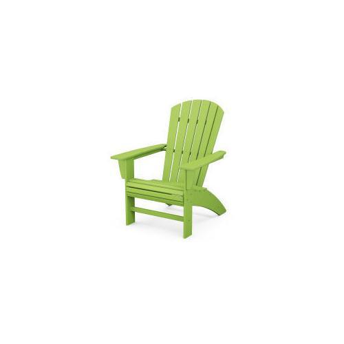 Nautical Curveback Adirondack Chair in Lime