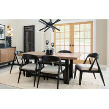 0520 Duo Trestle Dining Table