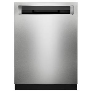 KitchenAid44 DBA Dishwashers with Clean Water Wash System and PrintShield Finish, Pocket Handle Stainless Steel with PrintShield™ Finish