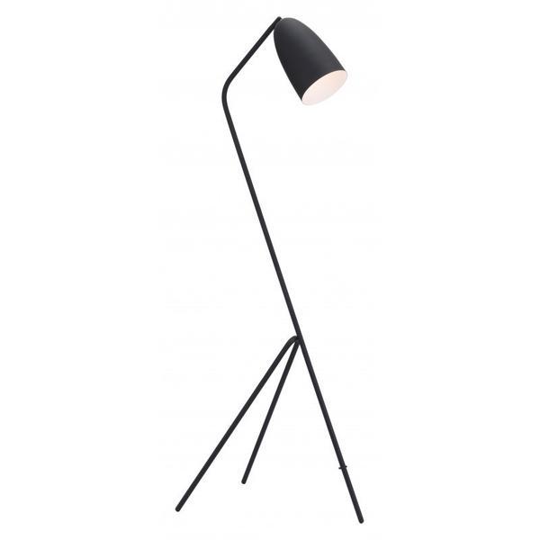 Jamison Floor Lamp Matte Black