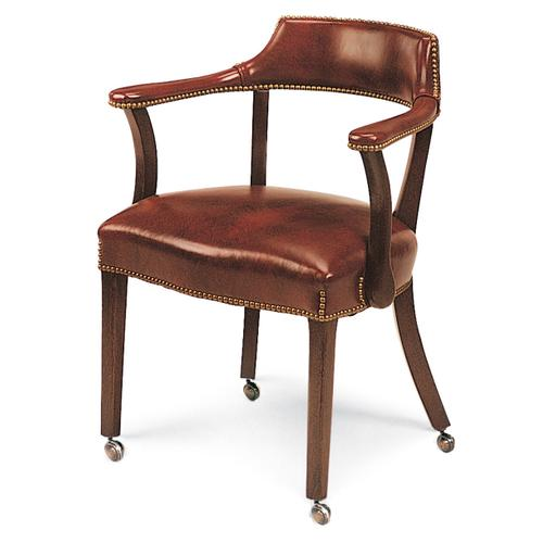 Hancock and Moore - 1801C CAPTAIN'S CHAIR (WITH CASTERS)