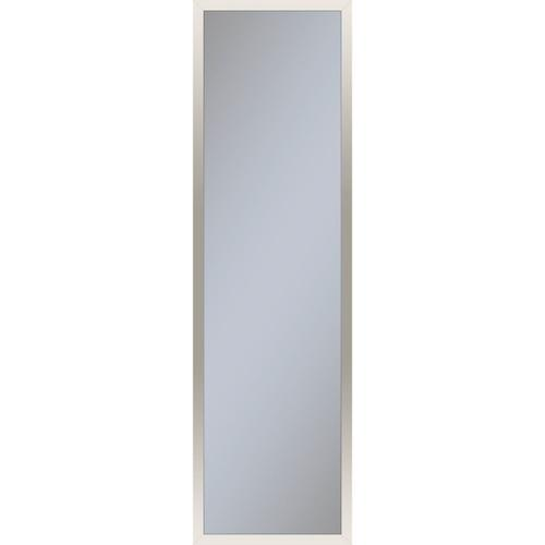 """Profiles 11-1/4"""" X 39-3/8"""" X 4"""" Framed Cabinet In Polished Nickel With Electrical Outlet, Usb Charging Ports, Magnetic Storage Strip and Left Hinge"""