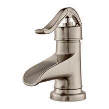Brushed Nickel Single Control Bathroom Faucet