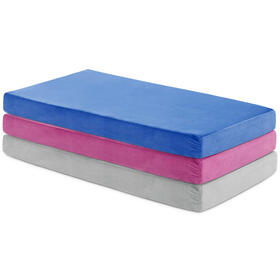 Brighton Bed Gel Memory Foam Mattress Queen Grey