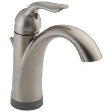 Stainless Single Handle Bathroom Faucet with Touch 2 O ® Technology
