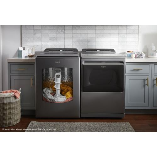 Gallery - 5.2 - 5.3 cu. ft. Top Load Washer with 2 in 1 Removable Agitator