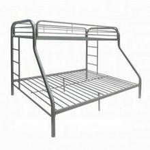ACME Tritan Twin/Full Bunk Bed - 02053SI - Silver
