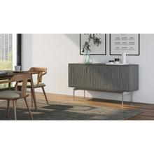 View Product - Tanami 7107 Storage Credenza in Fog Grey