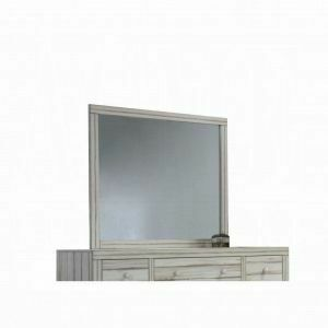ACME Shayla Mirror - 23984 - Antique White