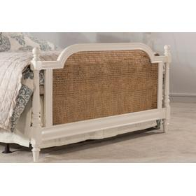 Melanie Footboard - Queen - White