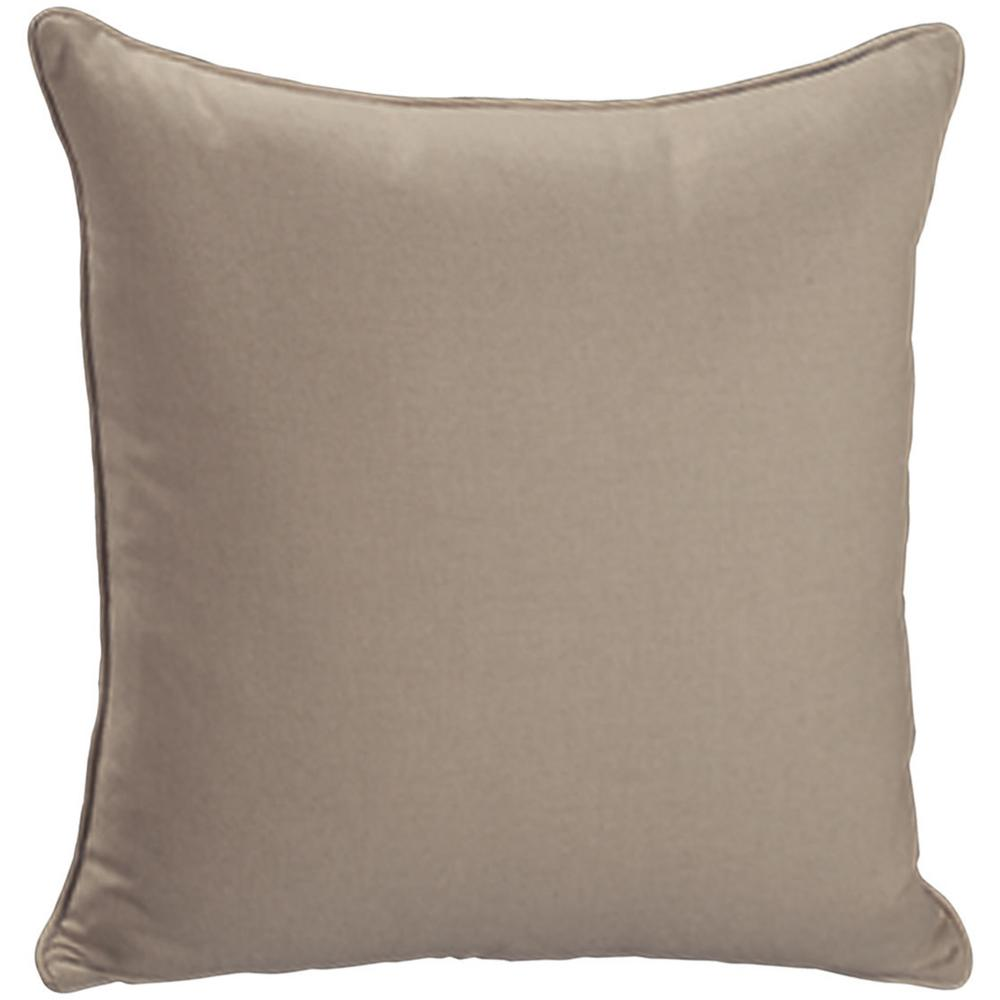 """See Details - Throw Pillows Knife Edge Square w/welt (22"""" x 22"""")"""