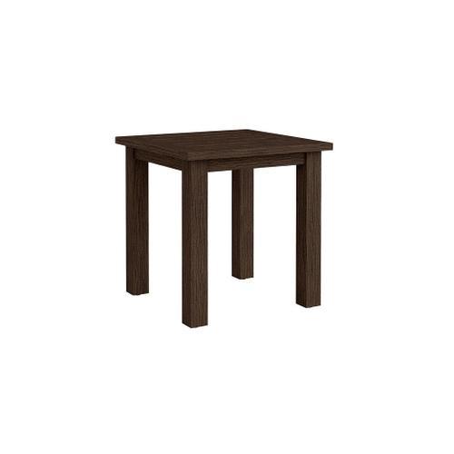Bassett Furniture - Aluminum Farm Tables Square Side Table