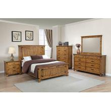 Brenner Rustic Honey Queen Bed