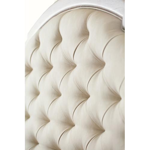 California King Santa Barbara Upholstered Tufted Panel Bed in Sandstone (385)