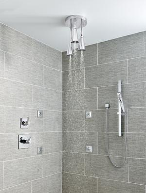 Chrome H 2 Okinetic ® Hand Shower 1.75 GPM w/Slide Bar 4S Product Image
