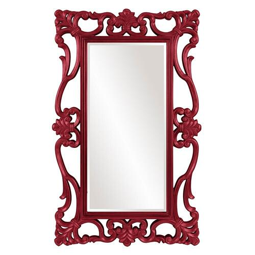 Howard Elliott - Whittington Mirror - Glossy Burgundy
