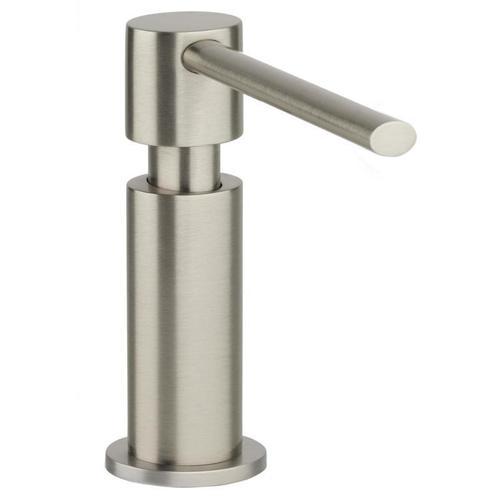 """Elkay - Elkay 2-1/8"""" x 5"""" x 5-1/2"""" Soap / Lotion Dispenser, Brushed Nickel (NK)"""
