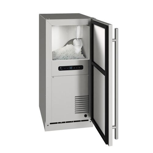 "Onb115 / Onp115 15"" Nugget Ice Machine With Stainless Solid Finish, No (115 V/60 Hz Volts /60 Hz Hz)"