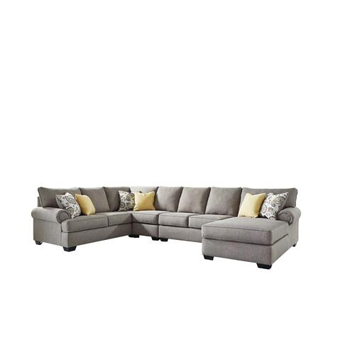 Renchen 3 Pc. Sectional Pewter