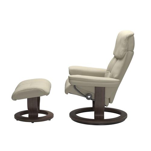 Stressless By Ekornes - Stressless® Ruby (L) Classic chair with footstool