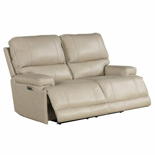 Parker House - WHITMAN - VERONA LINEN - Powered By FreeMotion Power Cordless Loveseat