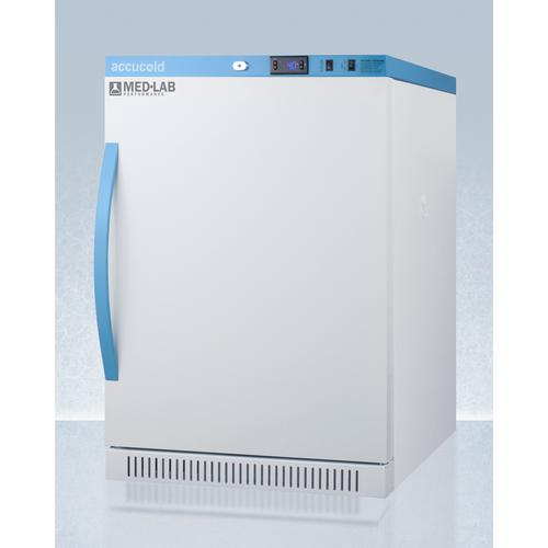 Performance Series Med-lab Freestanding 6 CU.FT. ADA Height All-refrigerator