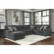 Tracling - Slate 3 Piece Sectional Product Image
